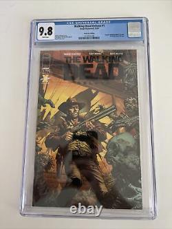 The Walking Dead Deluxe 1 Black Foil Cgc 9.8 Ltd 200 Rare Prêt À Expédier