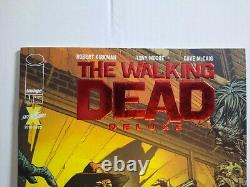The Walking Dead Deluxe #1 Ruby Red Foil Couvrent La Variante Exclusive De Skybound