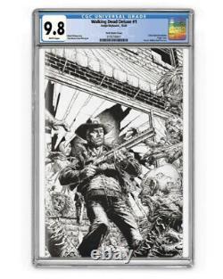 The Walking Dead Deluxe B & W Cgc 9.8 Presale