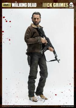 The Walking Dead Figurine De Collection À L'échelle 1 / 6ème De Rick Grimes Threezero Scelle