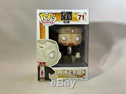 The Walking Dead Funko Pop! Télévision Merle Dixon # 71 (zombie) Voûté Rare