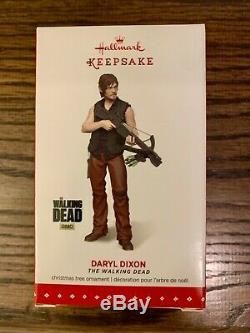 The Walking Dead Hallmark Ornement Ensemble De Tous Les 6 Y Compris Rare Daryl Dixon (nouveau)