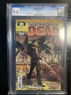 The Walking Dead Issue #1 Cgc 9.6 Robert Kirkman Image Comics