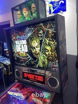 The Walking Dead Limited Edition Pinball Stern Livraison Gratuite 1 De 600 Topper