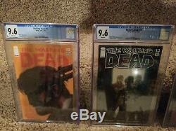 The Walking Dead Lot 2-193 Complete Set Première Impression! Beaucoup Cgc Graduées. Impressionnant