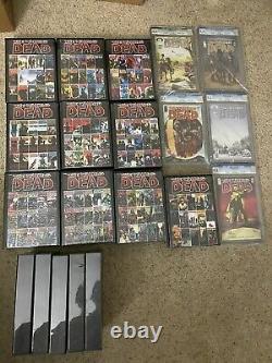 The Walking Dead Lot 2,3,4 Et 8-193 Premier Ensemble D'impression! Et Variantes Supplémentaires
