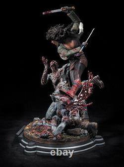 The Walking Dead Michonne Resin Statue 812/1500 Aveccoa Mcfarlane Toys New Sealed