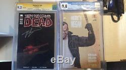 The Walking Dead N ° 100 Rare De Lucille Et Heres Negan 1 Cgc 9.8