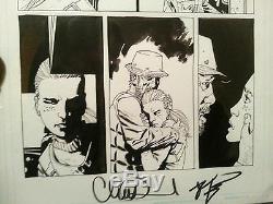 The Walking Dead Numéro 12 Page 4 L'art Original Andrea Dale Rv Charlie Adlard