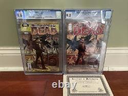 The Walking Dead Premier Tirage 1 Gradé (9.6) Aussi Walking Dead 10e A. E #1 (9.8)