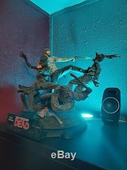 The Walking Dead Rick Grimes Statue Résine Mcfarlane