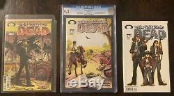 The Walking Dead Run 1-193 Pleine (# 2-9.2 Cgc) Tout D'abord Impressions! De Nombreuses Variantes +