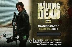 The Walking Dead Saison 3, Daryl Redemption Card Authentic Prop Relic Om23