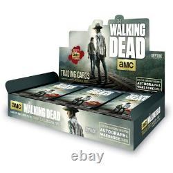 The Walking Dead Saison 4 Partie 1, Factory Sealed Hobby Box Cartes À Collectionner