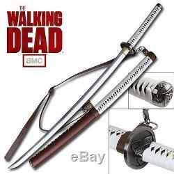 The Walking Dead Sous Licence Officielle Michonne Sword Katana Sword Officiel Amc