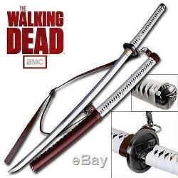 The Walking Dead Sword Michonne 40 Sword Amc Collection Officielle Sous Licence Officielle