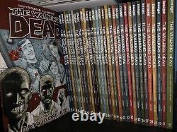 The Walking Dead Tpb Volume 1-32 Complete Set Twd Comics Collectionne 1-193