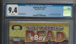 The Walking Morts # 1 Cgc 9.4 Blanc (1491328001) Au Dessus (1ère Impression) Kirkman 2003