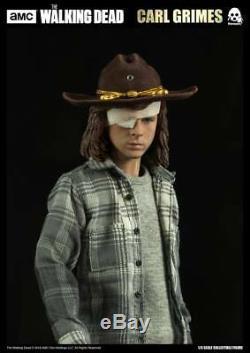 Threezero Amc The Walking Dead Carl Grimes Version Deluxe 1/6 Figurine Articulée