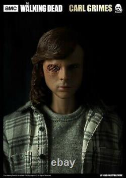 Threezero Carl Grimes Normale Version The Walking Dead Échelle Hot Toys