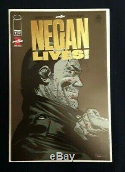 Vie Negan Numéro 1 Or Comic Varient