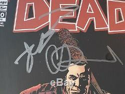 Walking Dead # 100 Cgc 9.6 Ss X3 Signé Adlard Kirkman Jeffrey D Morgan 2ème Imprimer