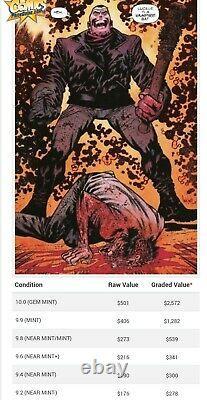 Walking Dead #100 Cgc 9.8 15th Anniversary Word Bubble Negan E Variante Rare