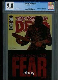 Walking Dead # 100 Cgc 9.8 1ère Apparition De Negan Et Lucille, La Mort De Glen