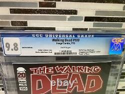 Walking Dead #100 Cgc 9.8 Red Foil Logo Edition 1er Negan & Lucille Glenn Death