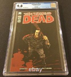 Walking Dead #100 Comic Book Cgc 9.8 Death Glenn 1er Negan 1ère Couverture 2ème Impression