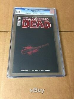 Walking Dead # 100 Feuille Rouge Cgc 9.8 Par Robert Kirkman Et Charlie Adlard