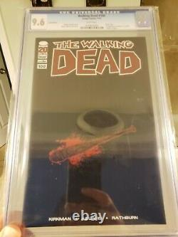 Walking Dead #100 Lucille Blank Variante Non-foil Cgc 9.6 (nm+) Image Comics