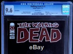 Walking Dead # 100 Lucille Édition Variant 9.6 Cgc Htf 1er Negan Image 2012