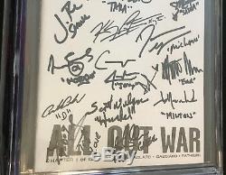 Walking Dead # 115 Cgc! Non Pharmacogénomique 9.8 Ss 32x Signé Par The Cast Of Walking Dead