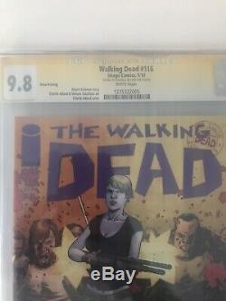 Walking Dead 116 3 Imprimer Cgc 9.8
