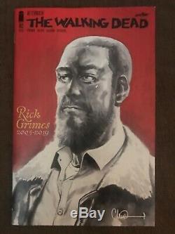 Walking Dead 191 192 193 Décès De Rick Grimes & Final Numéro 1 Er Et 2e Tirages