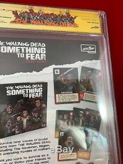 Walking Dead 192 Cgc Ss 9.8 Signé Par Robert Kirkman Au Sdcc Mort De Rick