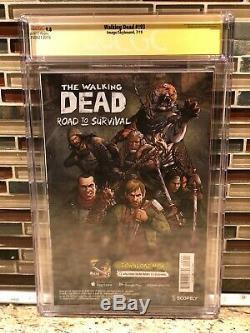 Walking Dead # 193 1er Imprimer Edition Finale Cgc Signature Series 9.8 Robert Kirkman