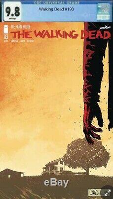Walking Dead # 193 1re Édition Numéro Définitif 72 Pages Ccg 9.8 Suivi Accéléré