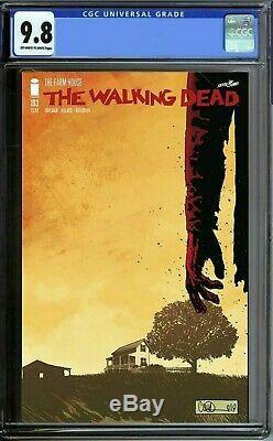 Walking Dead 193 Cgc 9.8 Numéro Final Fast Track Tôt Août Eta 1er Imprimé