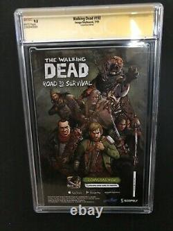 Walking Dead # 193 Sdcc Robert Kirkman Signature Ss Cgc 9.8