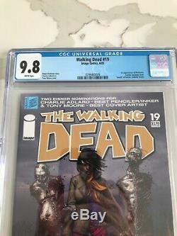 Walking Dead # 19 (1er Michonne) Cgc 9.8