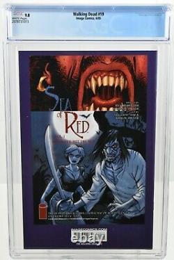 Walking Dead #19 (2005) Cgc 9.8 1ère Apparition Michonne Hawthorne Kirkman Image