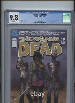 Walking Dead #19 Ccg 9,8 1ère Application Michonne Hawthorne Zombie Couverture Bondage