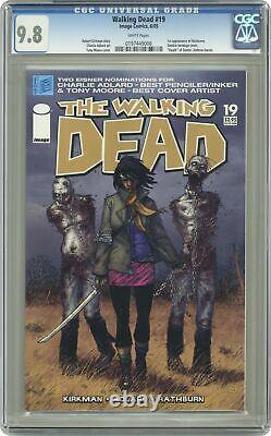 Walking Dead #19 Ccg 9.8 2005 017449006 1ère Application. Michonne