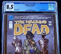 Walking Dead # 19 Cgc 8.5 Wp La 1ère App Michonne! Zombie Image 2005