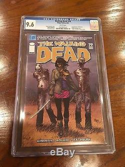 Walking Dead # 19 Cgc 9.6 1er Michonne