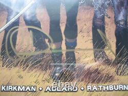 Walking Dead #19 Cgc 9.6 Ss Signé Charlie Adlard 1ère Application Michonne