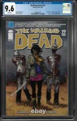 Walking Dead # 19 Cgc 9.6 Wp 1ère Application. De Michonne