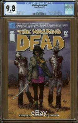 Walking Dead # 19 Cgc 9.8 1er Michonne